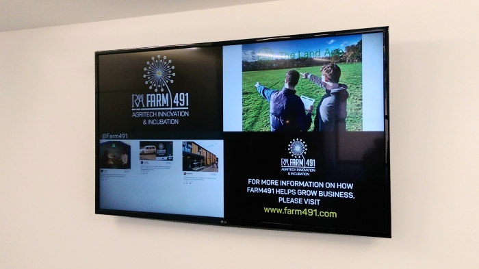 Farm 491 harvests more from digital signage