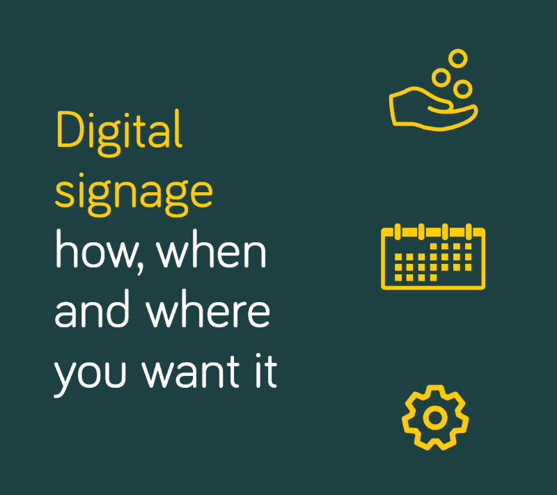 How can I make sure my digital signage is futureproof?